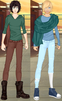 Liam and Zak on Rinmaru Guys Dress Up by CloudyRose06