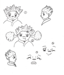 ROTG- Revised Sandy Sketchies by Penguinanthrogirl99
