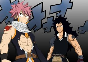 Fairy Tail Chapter 294 - Natsu and Gajeel by Natsu9555