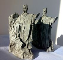 Argonath Bookends 2 by Minas-Tirith-Hakan
