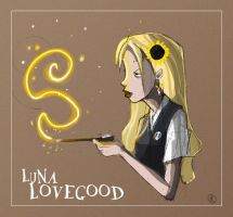 Luna Lovegood by Littlejunko