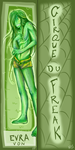 EVRA VON -book mark- by Feicoon