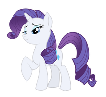 Rarity by BlueFluffyDinosaur