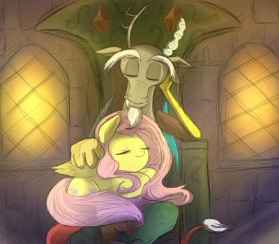 MLP: My only friend by keterok