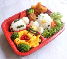 Second Bento - Different angle by sitidini