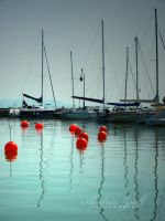 red ballons by AndrasZsolt