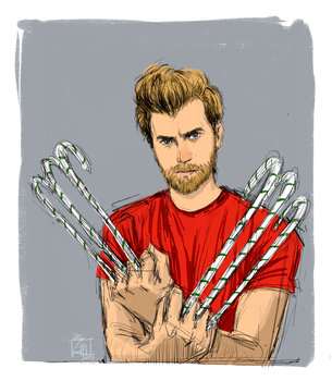 Christmas Wolverhett by benevolent-angel94