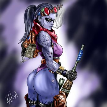 Widowmaker - raider (sharpshooter) by OrcBoozer