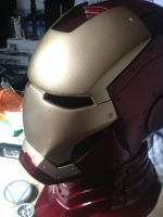 My Iron Man helmet by Letachita