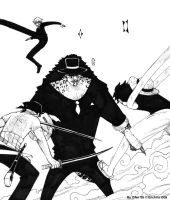 Strawhats Attack by ziwu