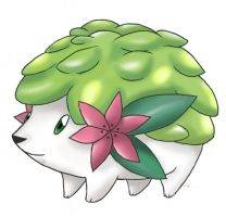 Shaymin, Gratitude Pokemon 2 by Xous54