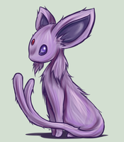Espeon by RequestFag