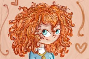 Gift: Merida. by Claualphapainter-95