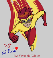 ++Kid Flash++ by Yavannie-Winter
