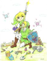 Off to Hyrule by charlottealice