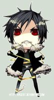 Izaya Sticker by 69Geist