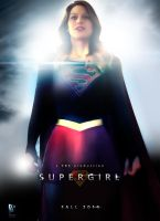 Supergirl Fan Poster by ManePL