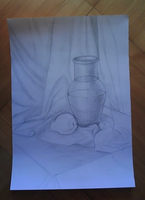 Still life WIP by Irkis
