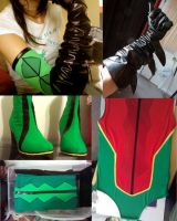 ame comi robin progress by Shlii