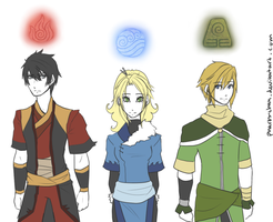 Avatar: A-Team by Pharos-Chan