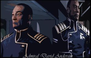 Admiral David Anderson, Rest easy sir. by RedVirtuoso