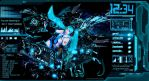 Hatsune Miku Rainmeter by Kasume-chan