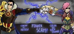 Power Slam! by OverStrange