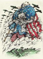 Uncle Sam Colored by samurai30