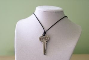Key to Dreams - Necklace by MonsterBrandCrafts