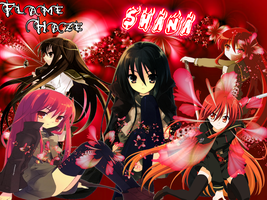 Shakugan no Shana 1.0 shana by XshyartinX
