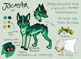 Jocasta reference sheet by JocastaTheWeird