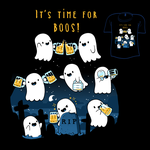 Woot Shirt - Time For More Boos by fablefire