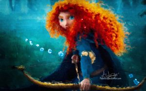 Princess Merida by Naelito