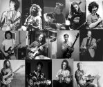 My favorite guitar players by pepeyo