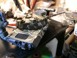 Tamiya 1/35 Leopard 1 wip 4 by DelosQAndrews