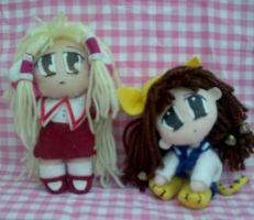FOR SALE: Chii + Petit Charat by AshFantastic