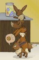 Eevee Trouble by JBerg18