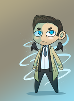 Cas' Grace by MinteaArts
