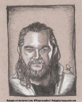 Bray Wyatt - Sketch Request by BadApple-Art