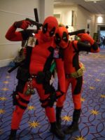 Deadpool Pair by StealthNinja5