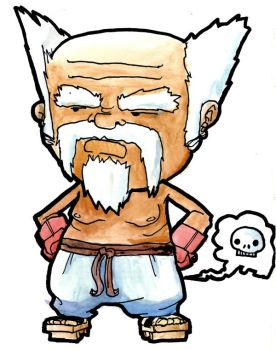 THAT OLD FART, heihachi by galvo