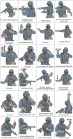 Military Gestures by niboswald