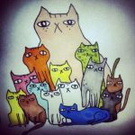 cats by jschick