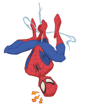 spidey colors by marinpoppins