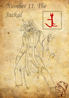 Black Zodiac: The Jackal by TheGoldenCrowbar