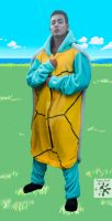 Squirtle: Front by KizzyAnel