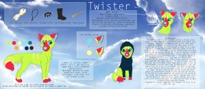 Twister's reference sheet by LiaBorderCollie