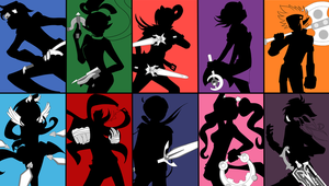 Grand Chase Silhouette by Dicex012