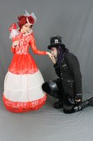 The Red Queen and the Mad Hatter 8 by MajesticStock