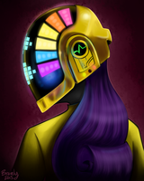 Daft Punk Rarity by bravelyart